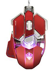 Недорогие -LITBest G10 Проводной USB Лазер Gaming Mouse / Креативный мышь Многоцветная подсветка 4000 dpi 4 Регулируемые уровни DPI 10 pcs Ключи
