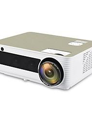 Недорогие -htp m5 светодиодный проектор 1920x1080p разрешение Full HD Android проектор 3D домашний кинотеатр HDMI светодиодный Proyector Bluetooth Wi-Fi