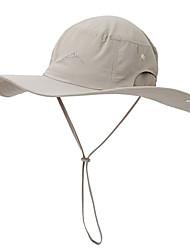 Недорогие -Шляпа Boonie 1 ед. Компактность С защитой от ветра Защита от излучения Удобный Сплошной цвет Чинлон Осень для Муж. Жен. Походы / туризм / спелеология Путешествия Темно-серый