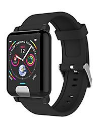 Недорогие -E04 Smart Watch BT Поддержка фитнес-трекер уведомлять и совместимый с пульсометром телефоны Apple / Samsung / Huawei
