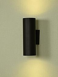 Недорогие -Матовая LED / Современный современный Внешние настенные светильники На открытом воздухе Металл настенный светильник IP65 общий