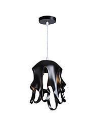 Недорогие -Iron Art подвеска lightmetal подвесной потолочный светильник подвесной светильник для столовой гостиная входной подвесной регулируемая высота 11.81 ширина