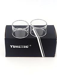 Недорогие -Замена стеклянной трубки yuhetec для aspire nautilus x 2 мл 2шт