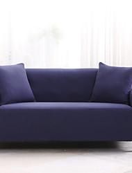 Недорогие -2019 новый стильный сплошной цвет высокого качества диван чехол стрейч диван суперобложка супер мягкая ткань ретро горячая распродажа чехол