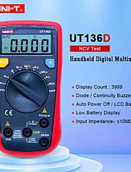 Недорогие -uni-t ut136d автодиапазон lcr метр мультитестер хранение данных dmm цифровые мультиметры с тестом частоты заполнения