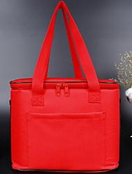 Недорогие -холст Молнии Коробка для ланча Сплошной цвет Повседневные Красный