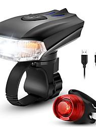 Недорогие -Светодиодная лампа Велосипедные фары Набор аккумуляторных ламп для велосипеда Задняя подсветка на велосипед огни безопасности Горные велосипеды Велоспорт Велоспорт / Интеллектуальная индукция