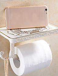 Недорогие -Держатель для туалетной бумаги Креатив Античный Сплав титана 1шт - Ванная комната На стену