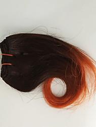 voordelige -4 bundels Maleisisch haar Golvend Echt haar Patroon 8 inch(es) Menselijk haar weeft Extensions van echt haar