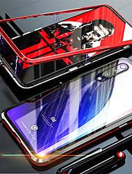 Недорогие -магнитомагнитный адсорбционный металлический стеклянный корпус для xiaomi mi 9 se / mi 9 задняя крышка чехол для xiaomi mi 8 se / mi 8