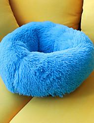 Недорогие -Мягкий / Прочный Одежда для собак Кровати Однотонный Синий / Розовый / Верблюжий Собаки / Коты