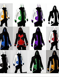 Недорогие -Вдохновлен Воин Assassin / Куки-аниме Аниме Косплэй костюмы Японский Косплей Костюмы / Косплей вершины / дна Назначение Муж. / Жен.