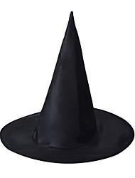 Недорогие -ведьма Волшебники Волшебный Гарри Шапки Метлы для ведьм Мальчики Шапки Хэллоуин Фестиваль / праздник Черный Карнавальные костюмы Halloween