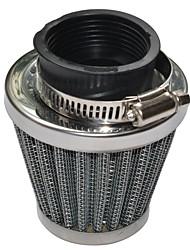 Недорогие -2 шт. 48 мм двухслойная сетка грибов дизайн воздушный фильтр запасные части фильтрации общего применения калибр48 мм package2 комплекты