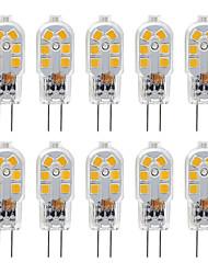 Недорогие -ZDM G4 2,5 Вт Светодиодная лампа 10 шт. светодиодные bi-pin G4 база 20 Вт замена галогенная лампа теплый белый / холодный белый dc12v