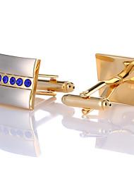 Недорогие -Запонки Классика Мода Брошь Бижутерия Золотой Назначение Свадьба