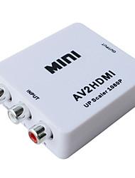 Недорогие -litbest AV к HDMI 1.3 подключить адаптер