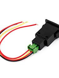 Недорогие -12 В постоянного тока на панель автомобиля противотуманные фары 4 проводной противотуманный выключатель для Toyota Camry
