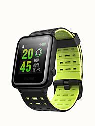 Недорогие -WEILE Hey 3S Мужчина женщина Смарт Часы Android iOS WIFI Bluetooth Водонепроницаемый Сенсорный экран GPS Пульсомер Измерение кровяного давления ЭКГ + PPG
