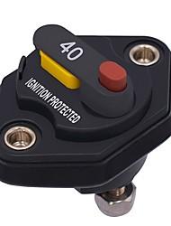 Недорогие -Предохранитель автоматического выключателя энергии двигателя автомобиля 40a встроенный 12v / 24v