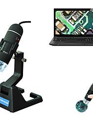 Недорогие -s09 8led usb цифровой электронный микроскоп зум лупа эндоскопа mikroskop регулируемая подставка правда 2-мегапиксельная видеокамера микроскоп