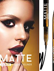 Недорогие -марка miele быстросохнущая анти-пот водостойкая черная подводка для глаз прочная не цветущая прохладная черная мягкая ручка