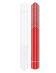 Недорогие -2 шт. / Компл. 2 м автомобильная наклейка спортивные гоночные полосы графические наклейки авто кузов кузов боковая дверь виниловые наклейки