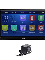 Недорогие -2din автомобильный стерео mp5-плеер 7-дюймовый FM-радио Bluetooth 4.0 USB вспомогательный вид сзади видео вход рулевого колеса функция обучения