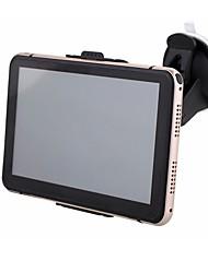 Недорогие -7-дюймовый автомобильный GPS-навигатор 256/8 ГБ FM-передатчик комплект бесплатных карт