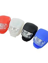 Недорогие -Светодиодная лампа Велосипедные фары Налобные фонари Задняя подсветка на велосипед LED Горные велосипеды Велоспорт Велоспорт Водонепроницаемый LED AG10 * Батарея Белый Красный Синий Велосипедный спорт