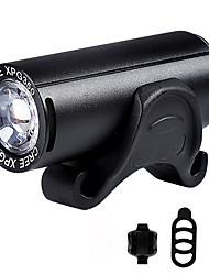 Недорогие -Светодиодная лампа Велосипедные фары Передняя фара для велосипеда Фонарь CREE XPG Горные велосипеды Велоспорт Водонепроницаемый Несколько режимов Супер яркий Литий-ионная 350 lm USB Перезаряжаемый