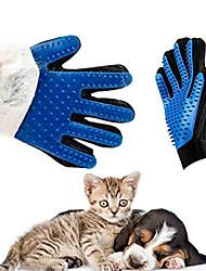 Недорогие -никовская перчатка для кошек уход за кошками домашняя собака щетка для удаления волос расческа для домашних собак чистка пальцев массажная перчатка для животных
