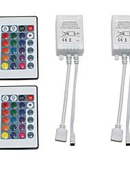 Недорогие -2pcs 12 V WiFi / Дистанционно управляемый / Аксессуары для ламп пластик Контроллер для RGB LED Strip Light / для светодиодной полосы света