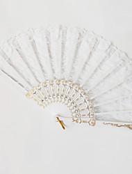 Недорогие -Веера пластик Комбинация материалов Свадьба