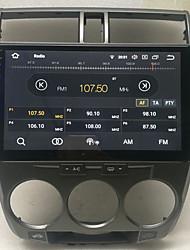 Недорогие -10,2-дюймовый Android 8,0 2 г 16 г четырехъядерный GPS-навигатор с сенсорным экраном автомобиля MP5-плеер для Honda City 2008-2012