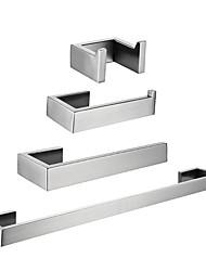 Недорогие -держатель для туалетной бумаги / вешалка для полотенец / набор аксессуаров для ванной комнаты creative / новый дизайн классический / современный из нержавеющей стали / из железа / из металла / из