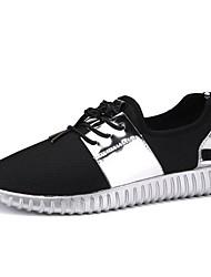 hesapli -Erkek Ayakkabı Örümcek Ağı Sonbahar Kış Atletik Ayakkabılar Günlük için Siyah / Altın / Gümüş