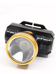 Недорогие -Фары аварийного освещения светодиодные светодиодные 1 излучатели 600 лм ручной 1 режим с зарядным устройством поворотный портативный ветрозащитный кемпинг / походы / пещеры повседневного использования