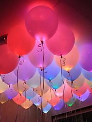Недорогие -LED подсветка пластик Свадебные украшения Рождество / Для вечеринок Новогодняя тематика / Свадьба Все сезоны