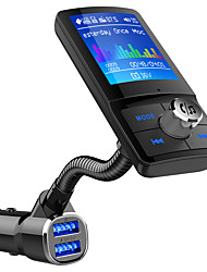 Недорогие -bc43 bluetooth fm-передатчик lcd автомобильный комплект громкой связи mp3-плеер qc3.0 usb зарядное устройство автомобильные аксессуары авто fm модулятор