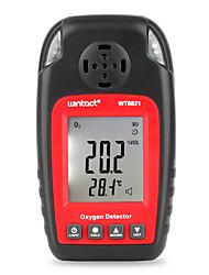 Недорогие -детектор кислорода wt8821 независимый датчик газа кислорода предупреждение высокочувствительный детектор тревоги отравления