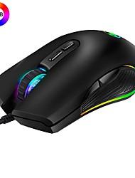 Недорогие -Modao W1909 Профессиональный эргономичный USB Проводная игровая мышь RGB 3200 точек на дюйм с 4 режимами подсветки