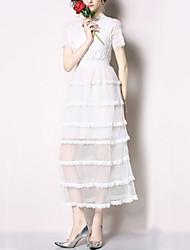 povoljno -Žene A kroj Haljina Jednobojni Maxi