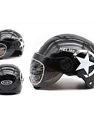 Недорогие -мотоциклетный шлем полуоткрытого лица регулируемый размер защиты передач шлем