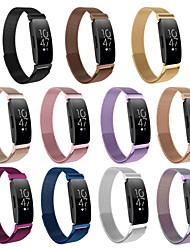 Недорогие -Ремешок для часов для Fitbit Inspire HR / Fitbit Inspire Fitbit Спортивный ремешок Нержавеющая сталь Повязка на запястье