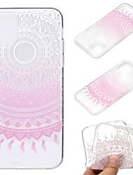 Недорогие -чехол для яблока iphone 11 / iphone 11 pro / iphone 11 pro max ультратонкий / прозрачный / с рисунком задняя крышка цветок тпу мягкий