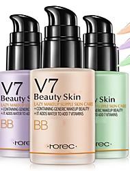 billige -bioaqua v7 doven lotion creme naturlig fugtgivende makeup concealer foundation vandtæt bb cc creme concealer makeup hudpleje