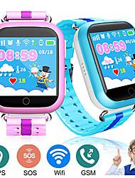 Недорогие -Q750 умные часы для малыша ребенка Wi-Fi GPS Agps местоположение телефона SOS Call сенсорный экран дистанционного мониторинга трекер детские безопасные часы