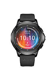 Недорогие -AFSJeep jeep HY-WS02 Мужчины Смарт Часы Android iOS WIFI Bluetooth Водонепроницаемый Сенсорный экран GPS Пульсомер Измерение кровяного давления ЭКГ + PPG
