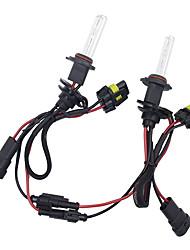 Недорогие -2 шт. / Компл. 55 Вт 9006 hid ксеноновые лампы конверсионный комплект 3000-12000 К для автомобильного комплекта лампочки * 2 цветовая температура 5000 К / 6000 К / 12000 К